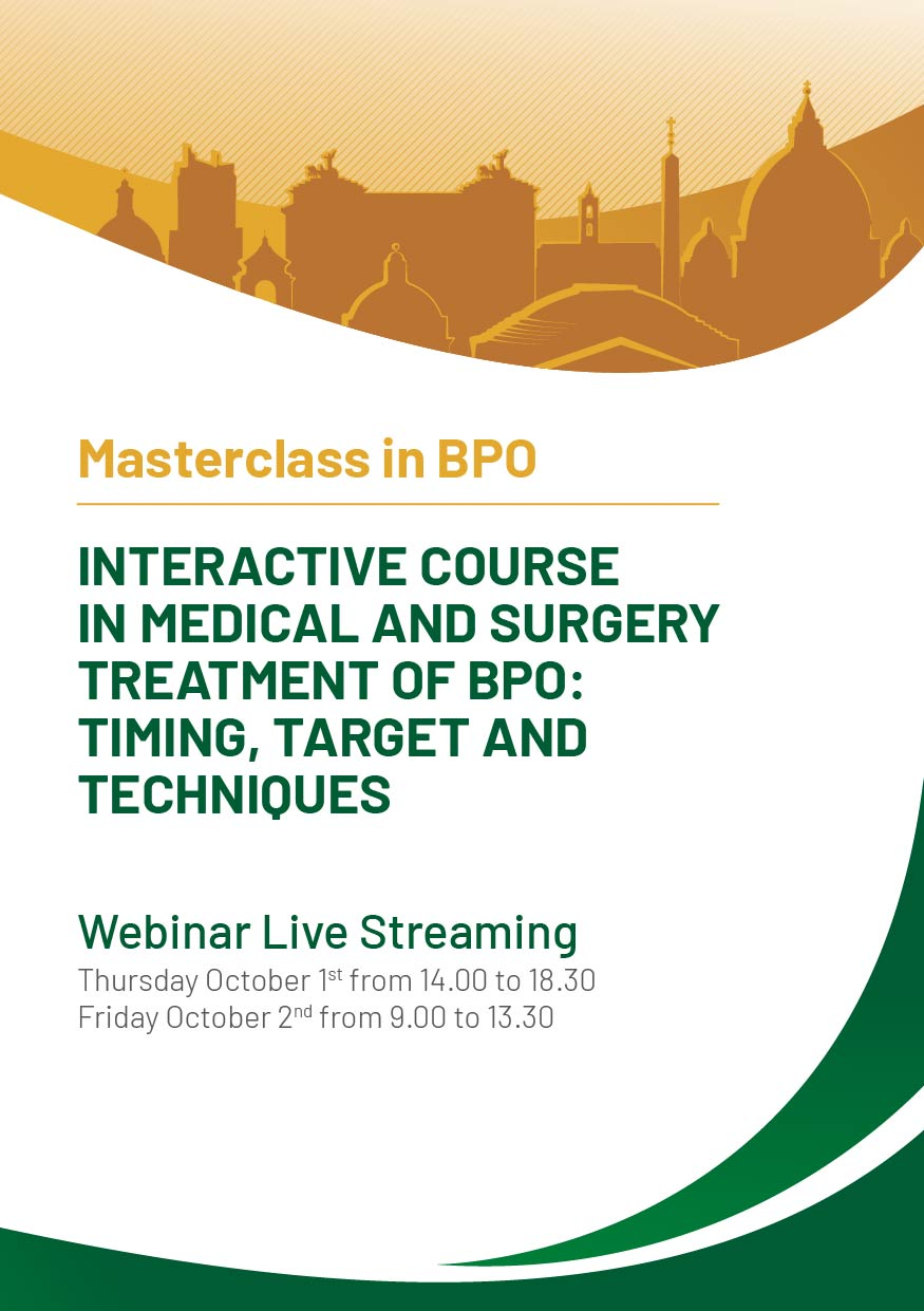 Course Image Interactive Course in Medical and Surgery Treatment of BPO: timing, target and tecniques